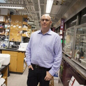 Matthew Shair pictured in his lab.