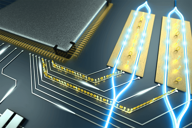 Integrated photonic chip